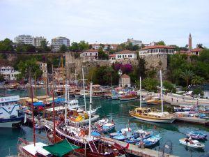 Kaleici Antalya Harbour